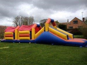 Assault course / fun run - Inflatables (Slides & Games)