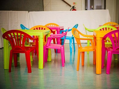 Childrens tables and chairs