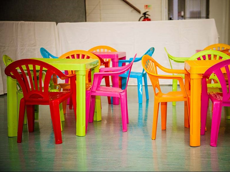 Childrens tables and chairs - Event Equipment