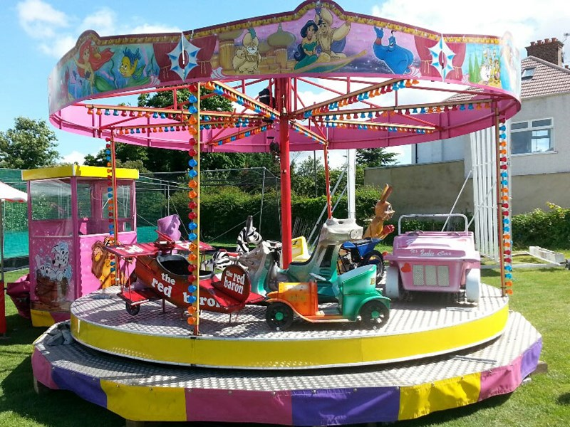 Toy Carousel - Rides, Games & Attractions