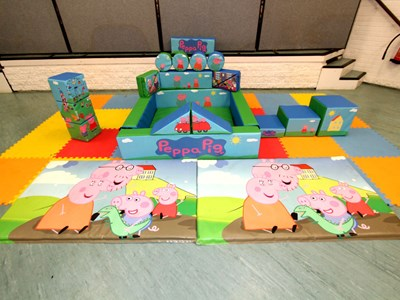 Pep Pig Soft Play Set
