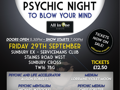 Psychic Night To Blow Your Mind