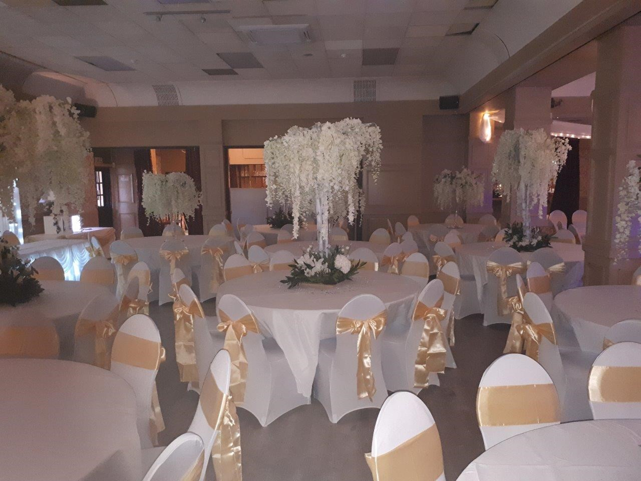Chair Covers and Bows - Venue Decoration