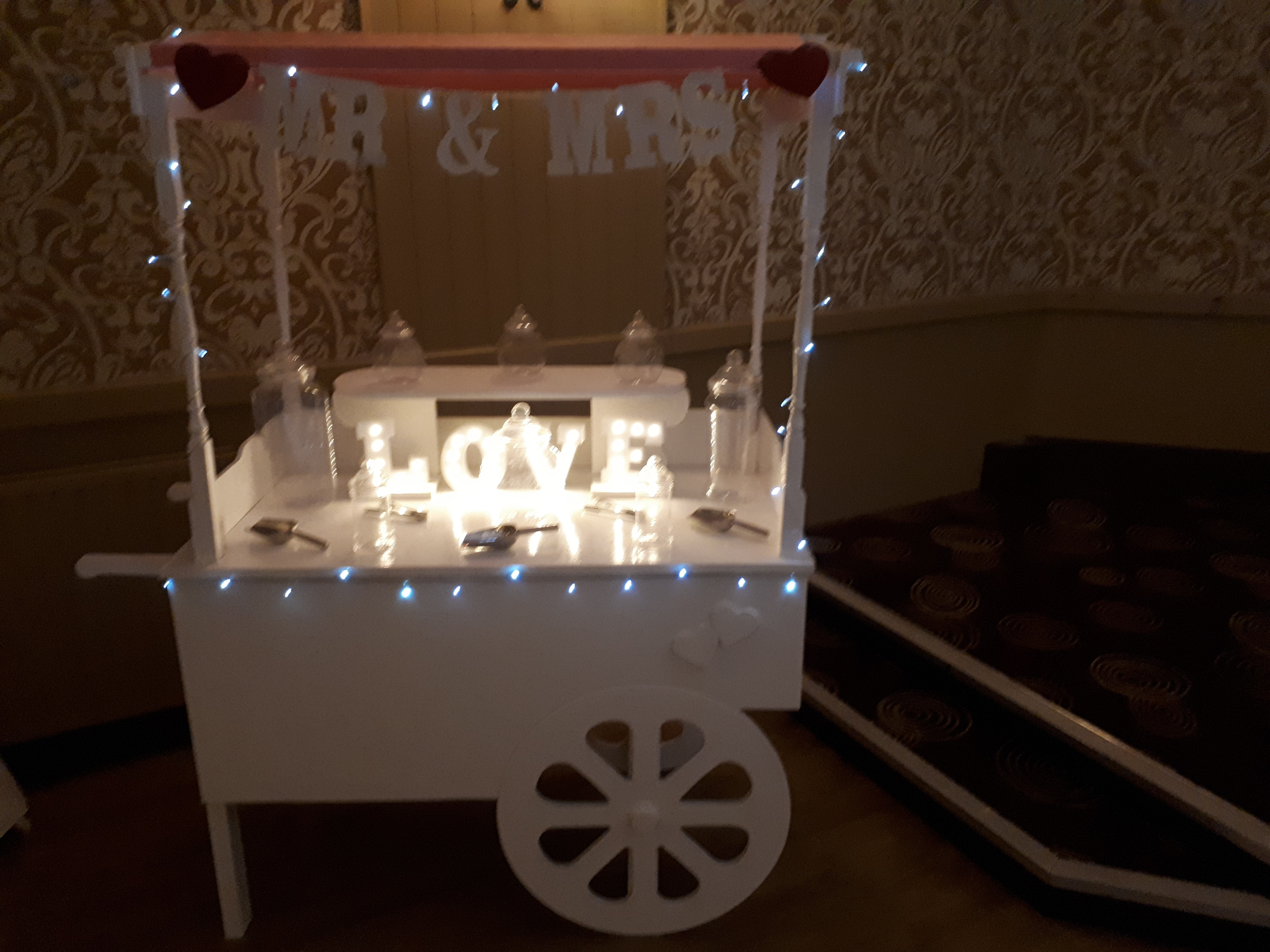 Sweetie cart party package - Party Packages