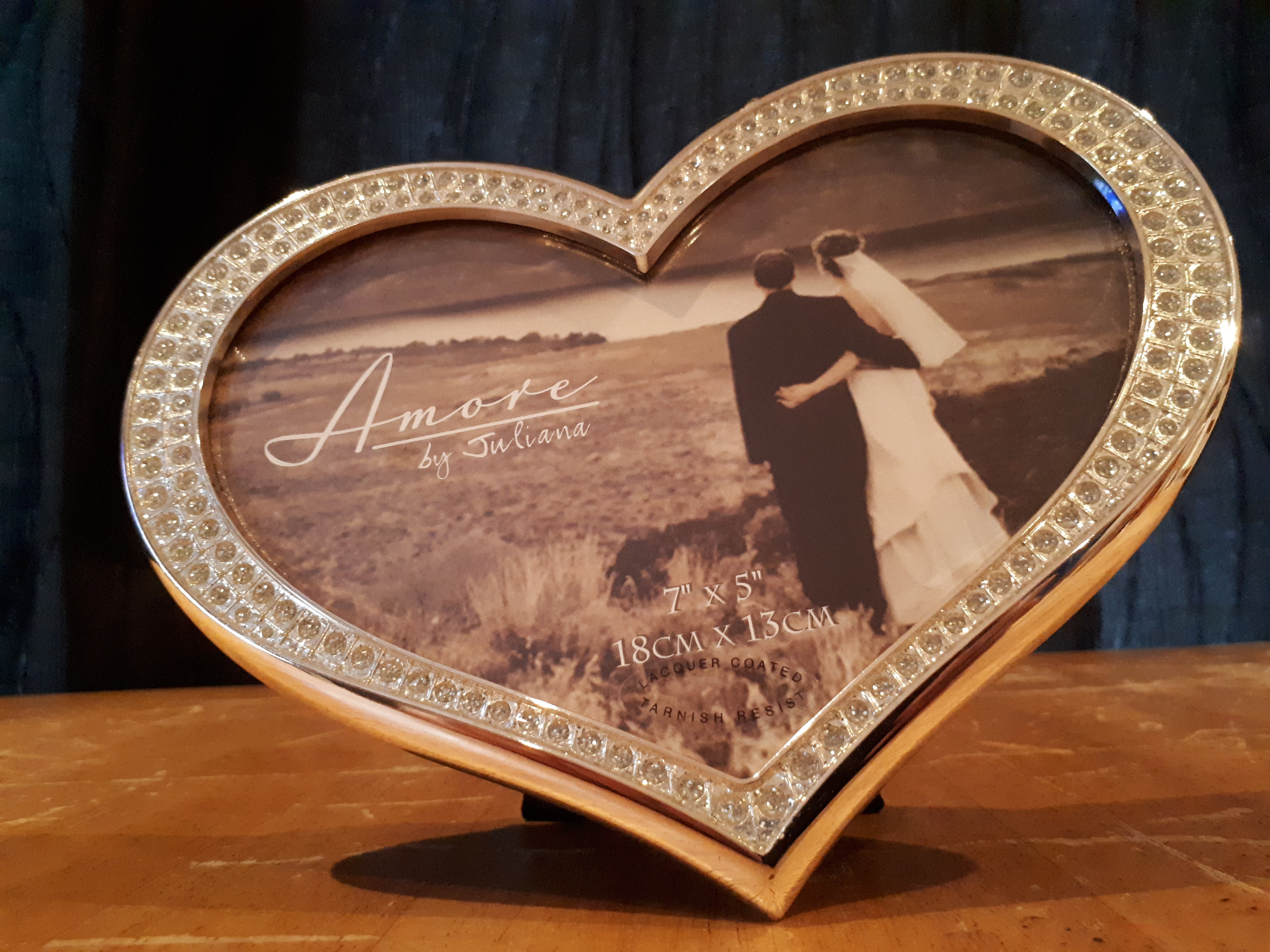 Love Heart Picture Frame - Weddings