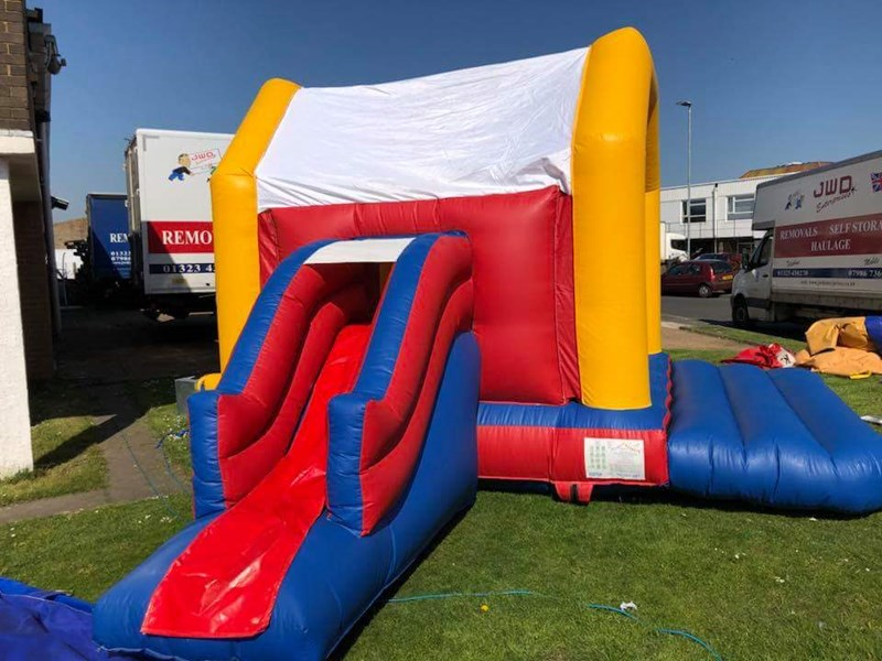 Plain Combo Castle - Bouncy Castles