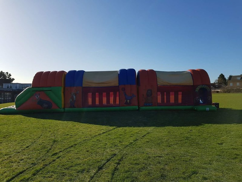Assault Course / Fun Run Large - Inflatables (Slides & Games)