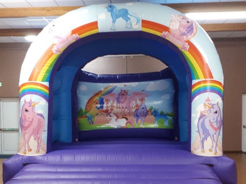 Unicorn Bouncy Castle - Bouncy Castles