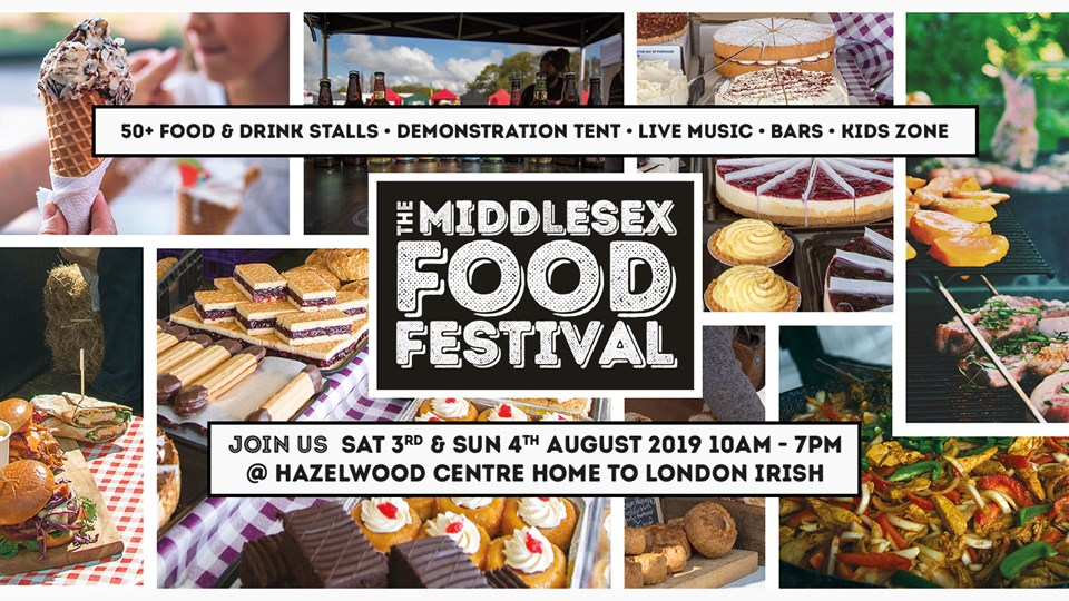 Middlesex Food Festival - this weekend!
