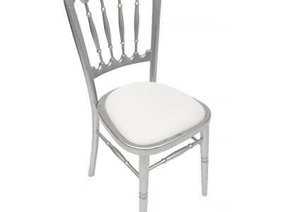 Silver Banqueting Chair