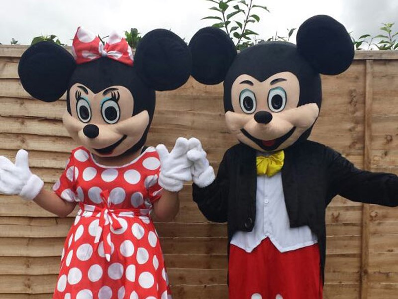 Mickey & Minnie Mouse - Mascots
