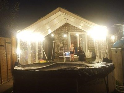 Marquee hire in Surrey, Middlesex, Kingston, Barnes and